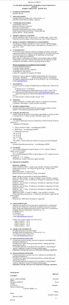 REGULAMIN-ŻELISTRZEWO 2015 poprawiony-1